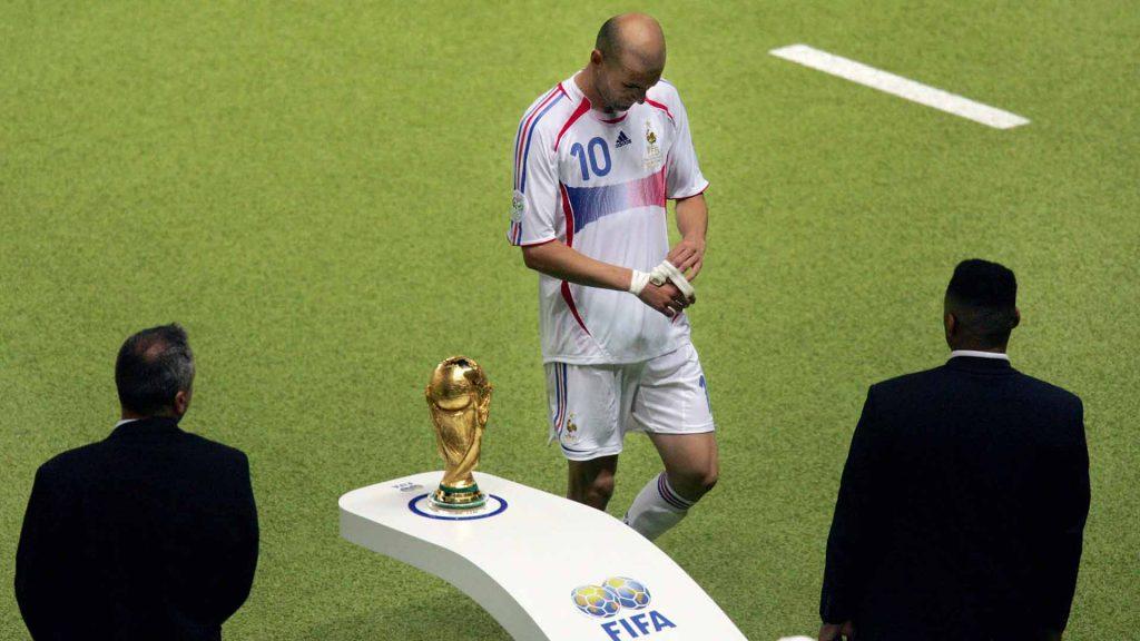 Удаление Зидана - Чемпионат Мира 2006 г.