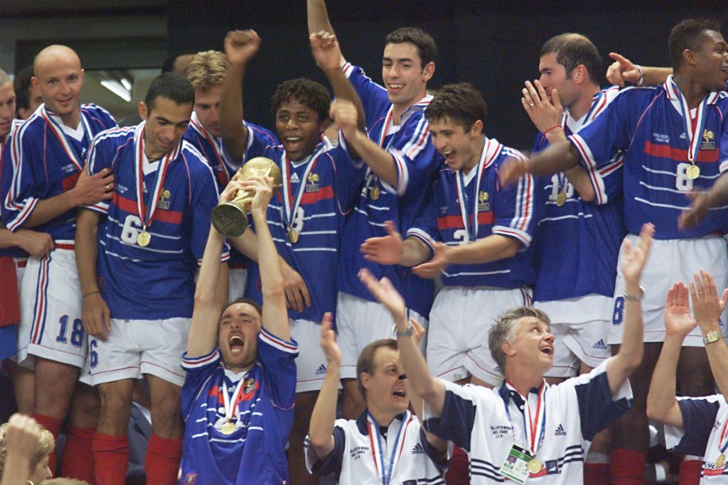 Сборная Франции 1998 г.