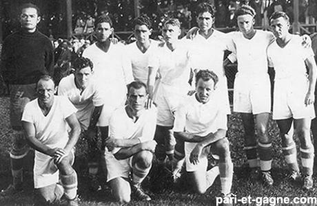 Олимпик Марсель первое чемпионство 1937 г