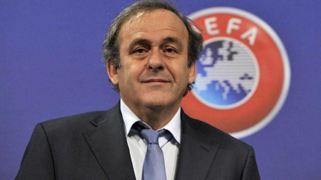 Мишель Платини президент УЕФА